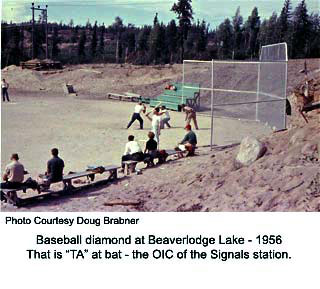 Baseball at Beaverlodge