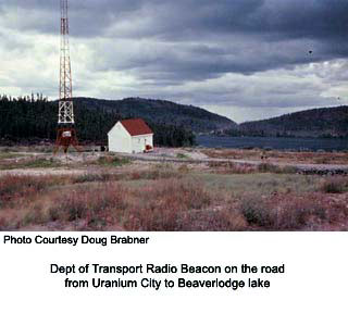 Radiobeacon, Beaverlodge Lake