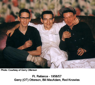 Gerry Otterson, Bill MacxAdam and Red Knowles `956