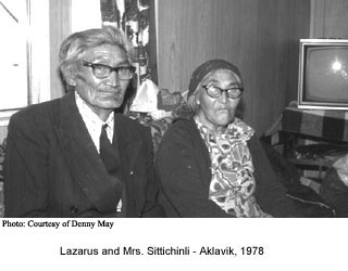 Lazarus and Mrs Sittichinli