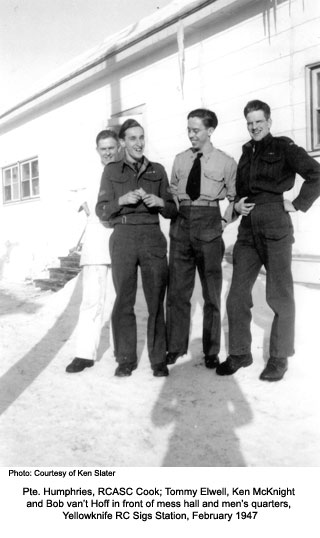 RC Sigs Staff Yellowknife 1947