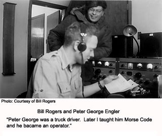 Bill Rogers and Peter George