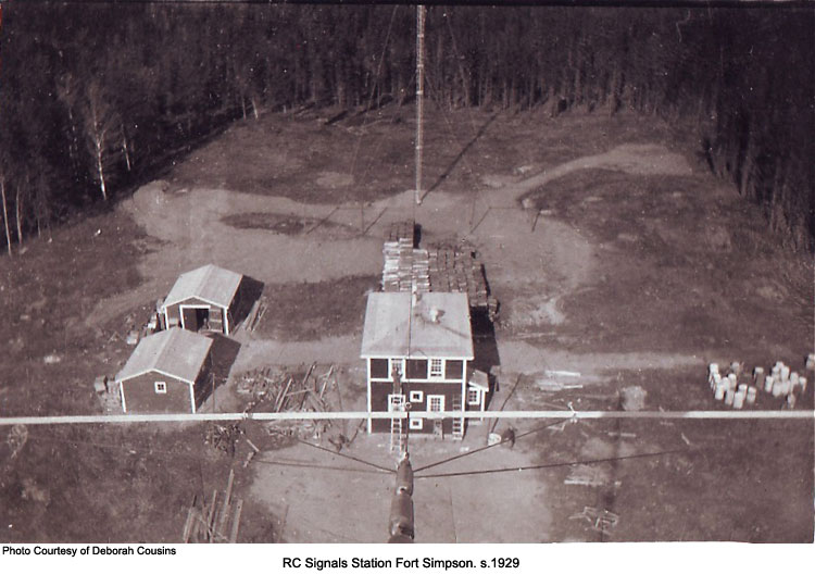 Ft.Simpson Station 1929