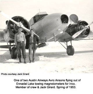 Avro Anson at Ennadai Lake