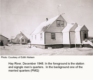 Hay River Station quarters