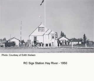 Sigs Station Hay River 1950