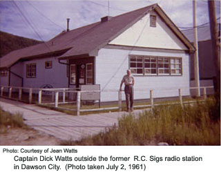 Dawson City RC Sigs station 1961
