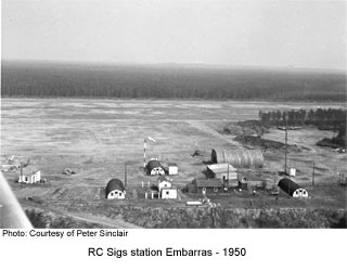 RCSigs Station Embarras Lake 1950