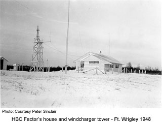 HBC Factor's House at Wrigley 1948