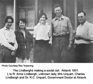 The Lindbergh's in Aklavik