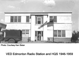 RC Sigs station and HQ, Edmonton.