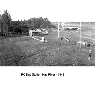 Hay River station 1943