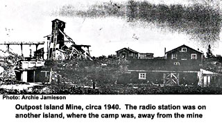 Outpost Island mine site