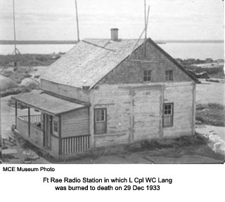 Ft Rae Signals Station